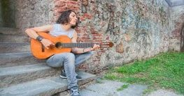 Musiker in der Toskana