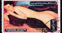 Modigliani Briefmarke