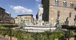 Neptun Brunnen in Florenz