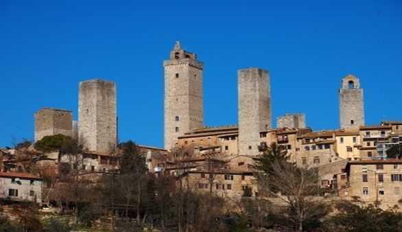 Ansicht San Gimignano