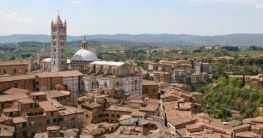 Toskanisches Stadtleben